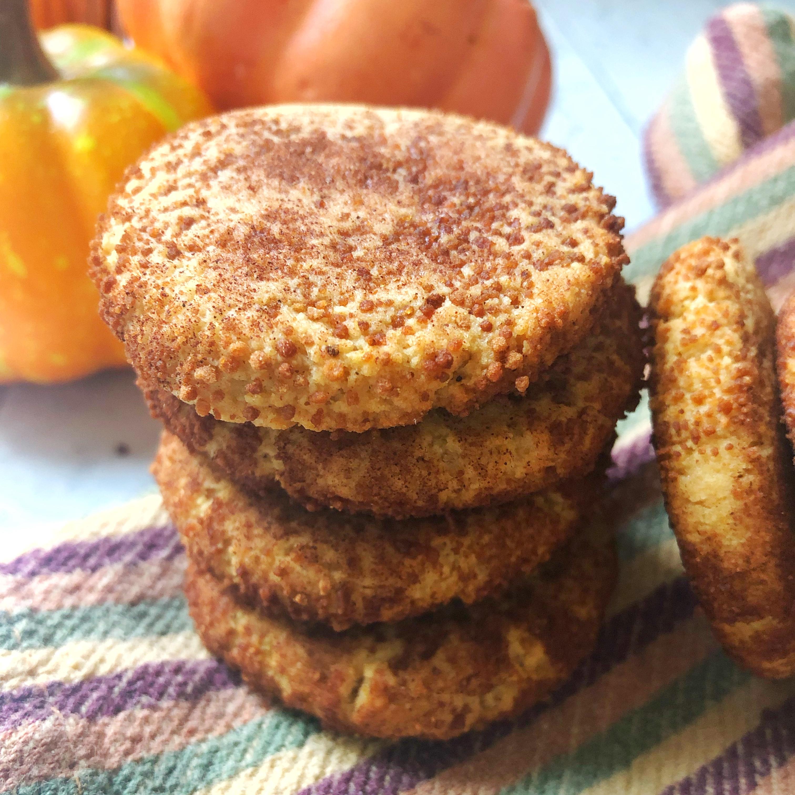 Gluten Free Pumpkin Snickerdoodles